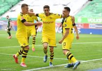 Hakimi, Guerreiro, Hazard (BVB)