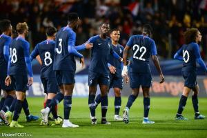 La liste de l'équipe de France U21