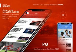 Mobile - Suivez toute l'actualité du LOSC sur votre smartphone !