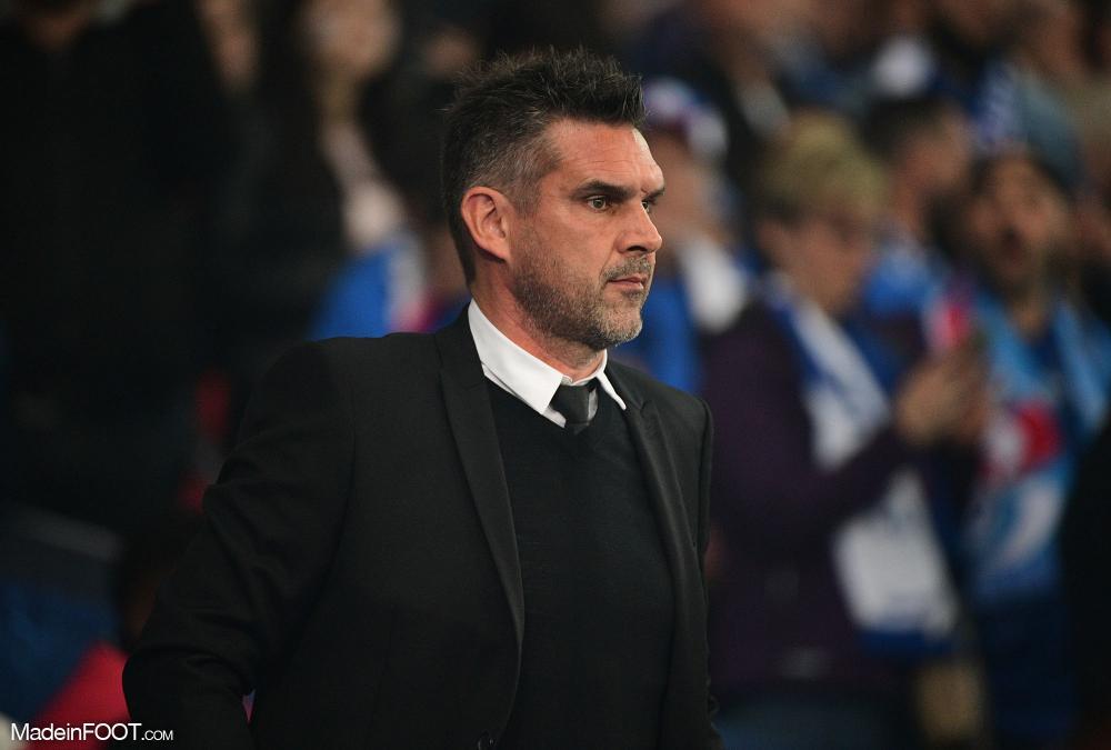 Jocelyn Gourvennec, le nouvel entraîneur du Lille OSC.
