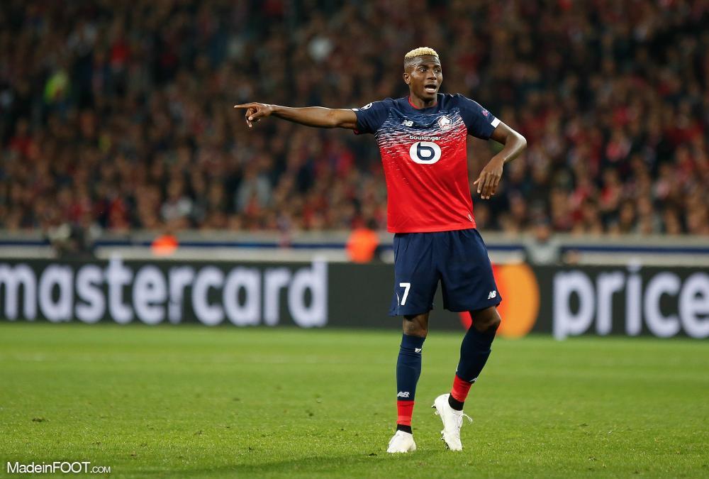 Victor Osimhen devrait rapporter une belle somme à Charleroi.
