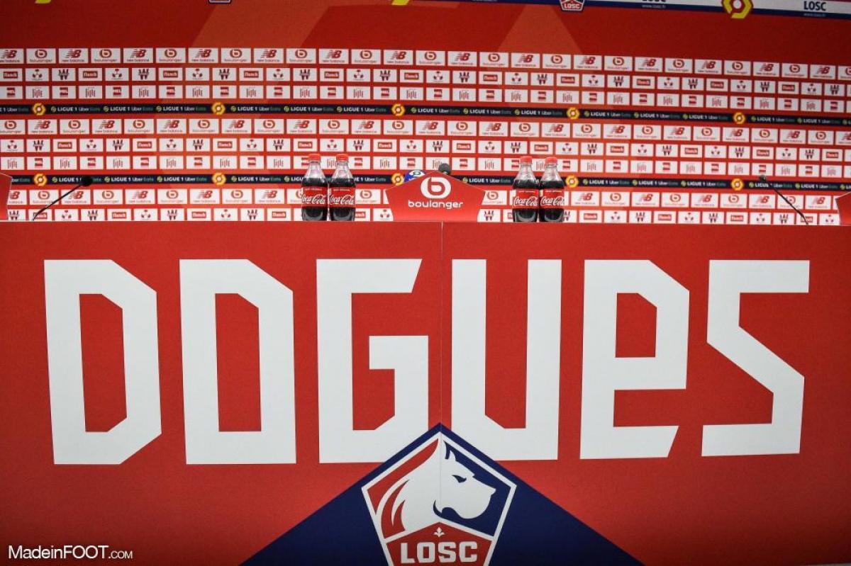 Lille a dévoilé son nouveau maillot.