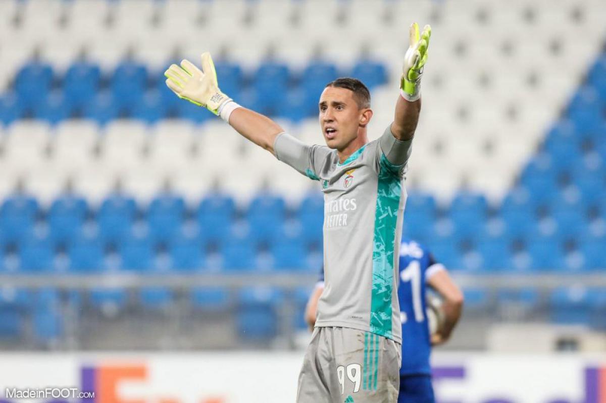 Odysseas Vlachodimos, gardien du SL Benfica