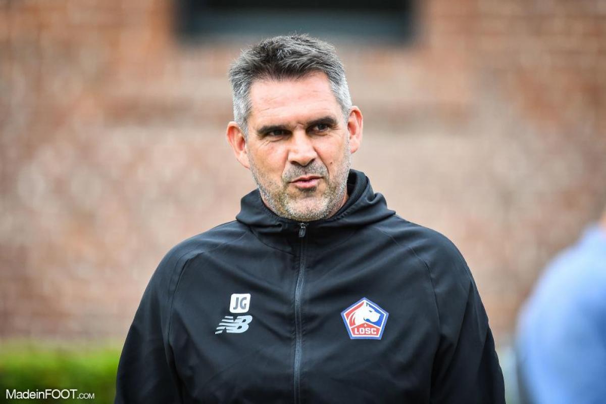 Le coach du LOSC était satisfait après le match contre Strasbourg