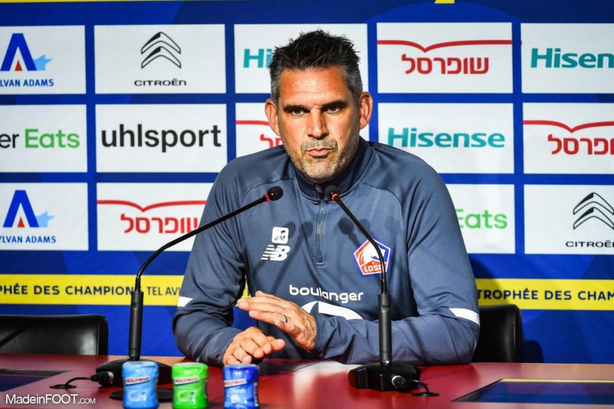 Jocelyn Gourvennec, l'entraîneur de Lille