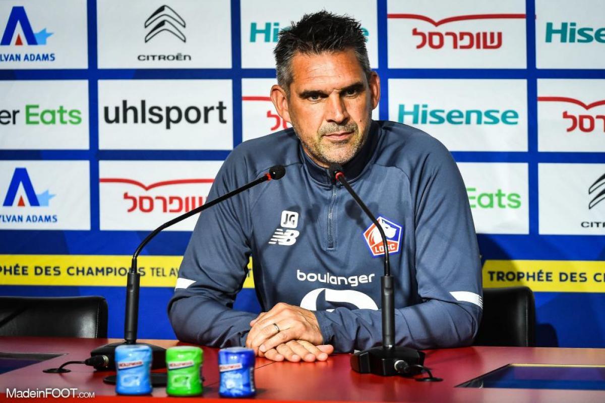 Gourvennec en conférence de presse