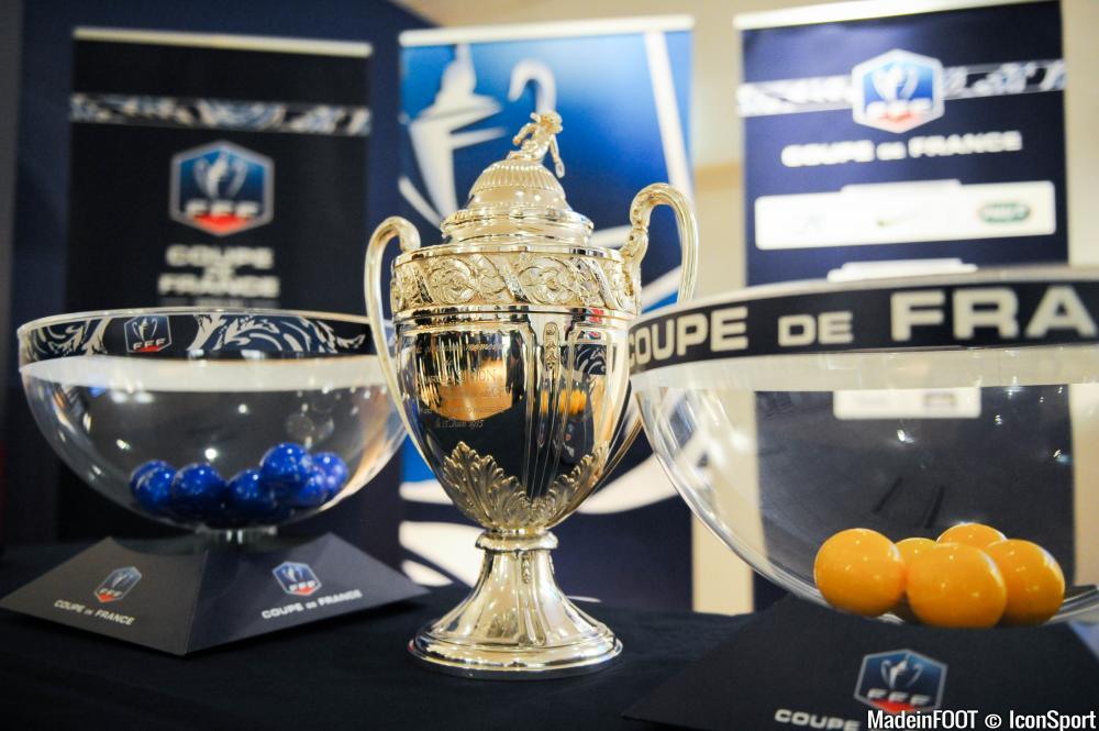 Le tirage au sort des seizièmes de finale de la Coupe de France.