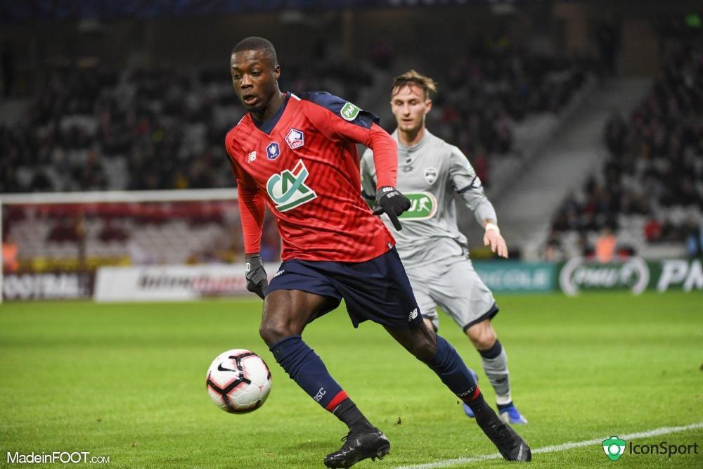 Le Lille OSC a logiquement dominé le FC Sochaux (1-0), ce lundi soir en Coupe de France.