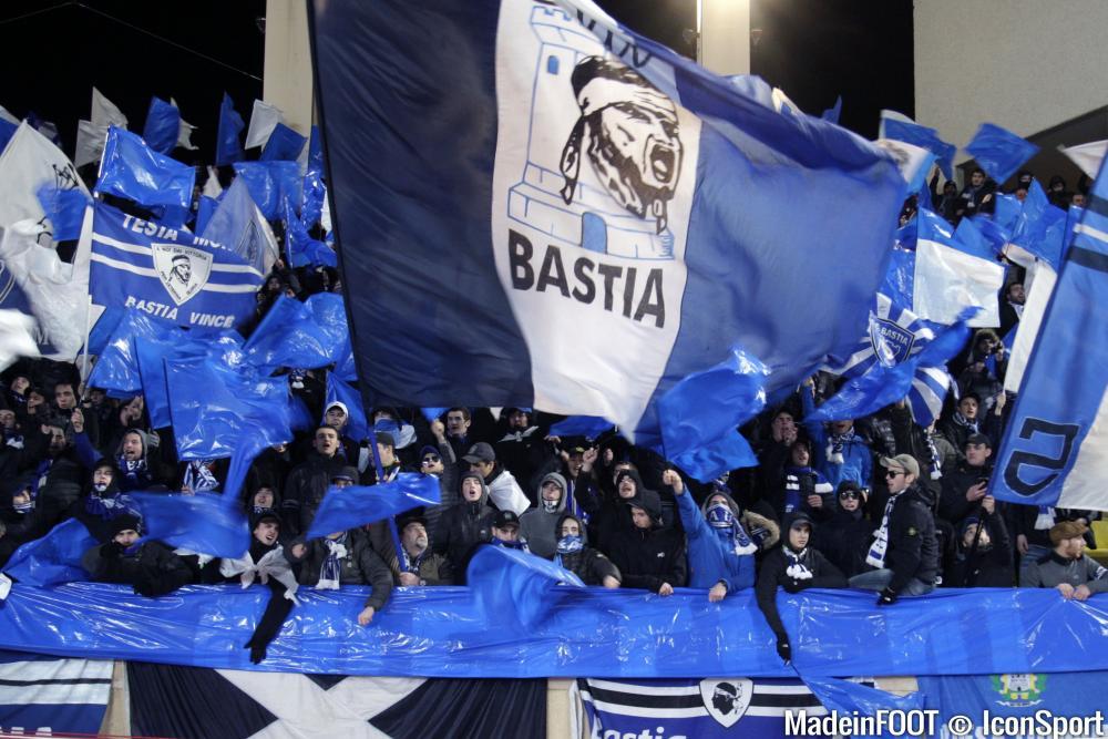 Les supporters bastiais ont écopé d'un match à huis-clos, une sanction déjà purgée