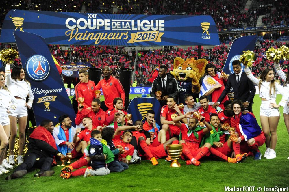 Le PSG est le tenant du titre de la Coupe de la Ligue.