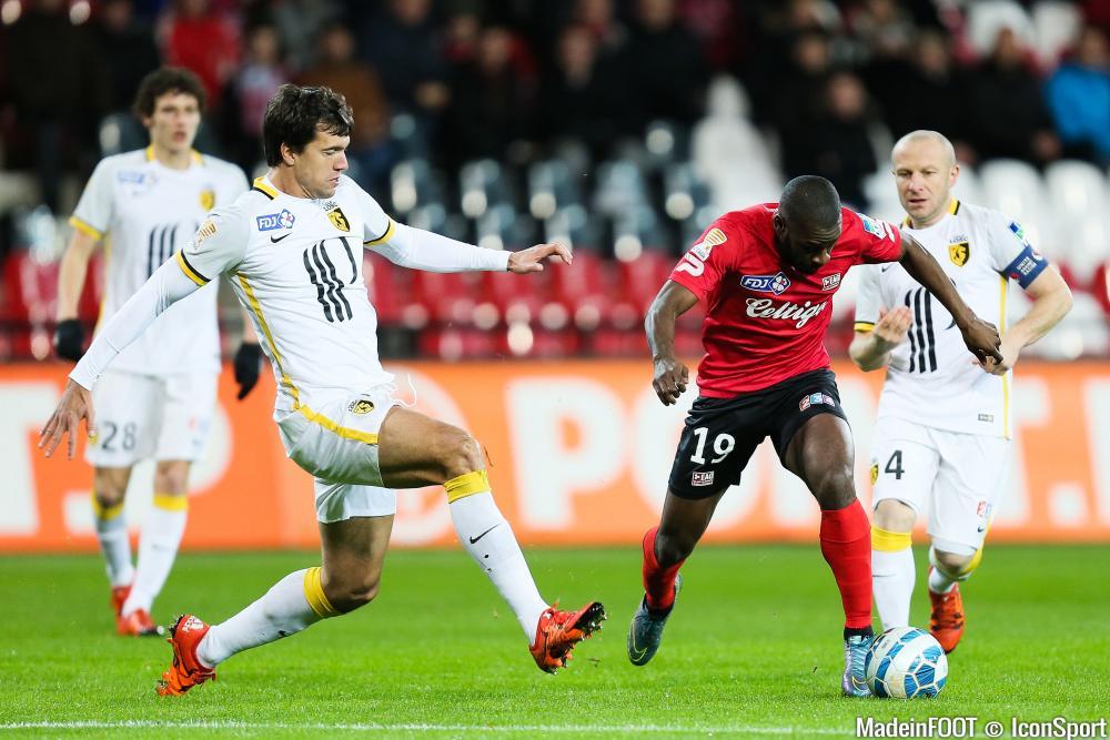Yannis Salibur (EAG) est forfait pour le match contre Lille, samedi soir.