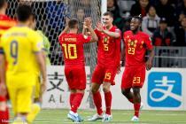 Meunier (Belgique), Hazard (Belgique), Batshuayi (Belgique)