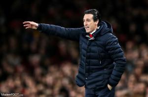 Unai Emery, l'entraîneur d'Arsenal (Premier League).