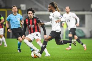 Sanches face à l'AC Milan