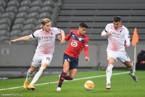 Luiz Araujo, le milieu de terrain offensif du Lille OSC.