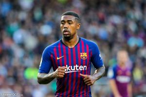 L'attaquant barcelonais Malcom
