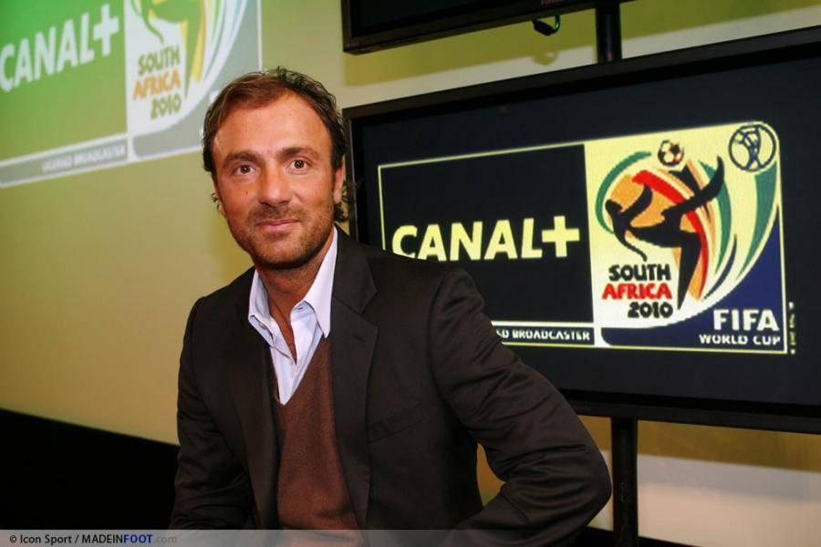Dugarry travaille aujourd'hui pour Canal+
