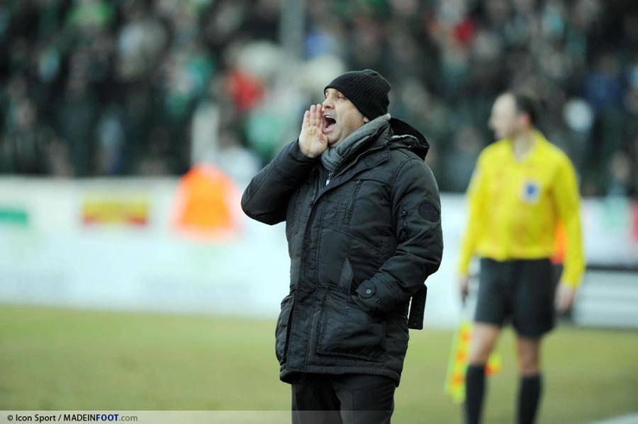 Frédéric Antonetti a entraîné les Verts entre 2001 et 2004.