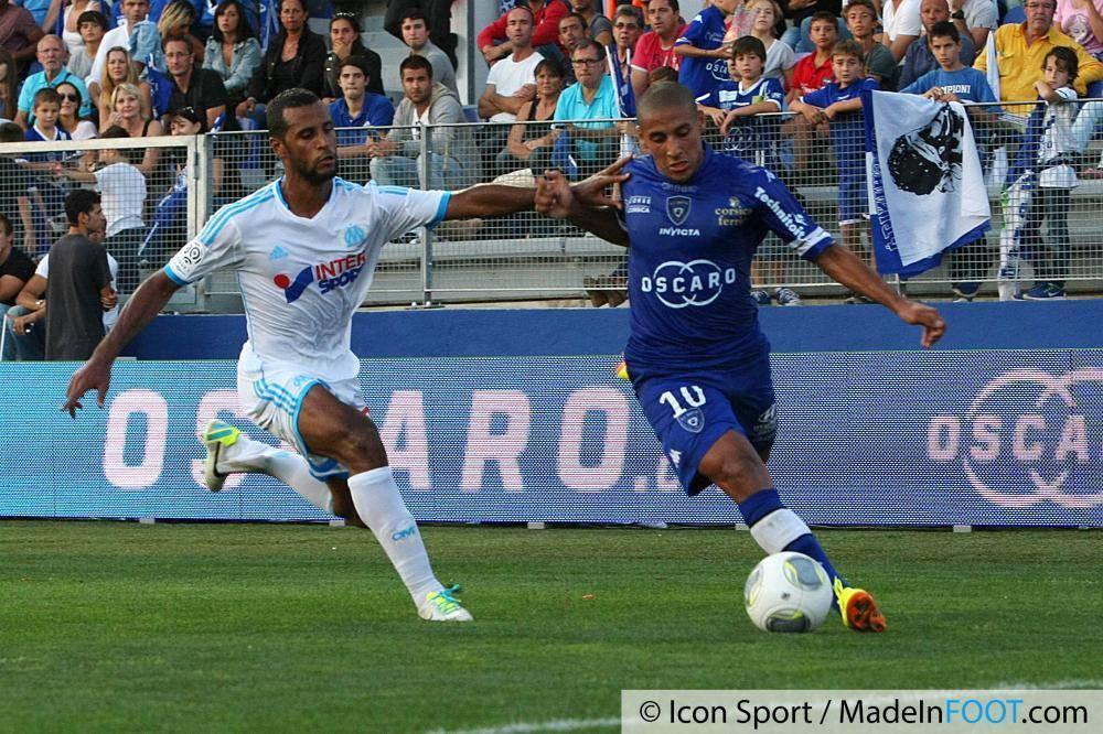 Khazri a donné l'égalisation au SC Bastia