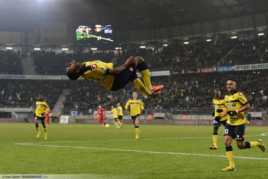 Giovanni Sio (SC Bastia), alors sous les couleurs du FCSM, suscite les convoitises en L1.