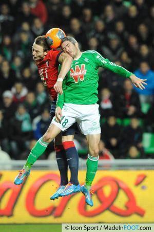 Nolan ROUX / Fabien LEMOINE - 17.01.2014 - Saint Etienne / Lille - 21eme journee de Ligue 1 -