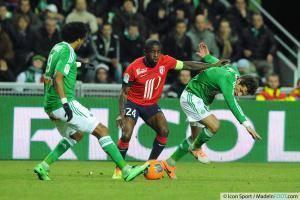 Rio MAVUBA - 17.01.2014 - Saint Etienne / Lille - 21eme journee de Ligue 1 -