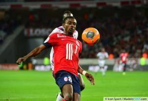 Salomon Kalou, ici sous les couleurs du Lille OSC, quitte le Hertha Berlin (Bundesliga).