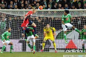 Simon KJAER - 17.01.2014 - Saint Etienne / Lille - 21eme journee de Ligue 1 -
