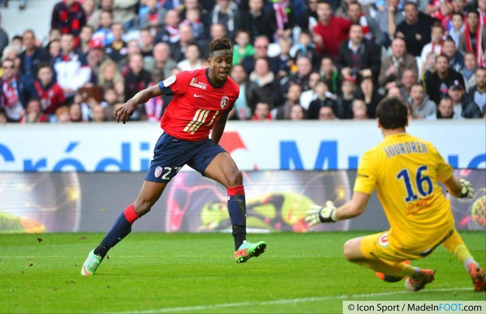 L'attaquant lillois a disputé 30 matchs de Ligue 1 la saison dernière