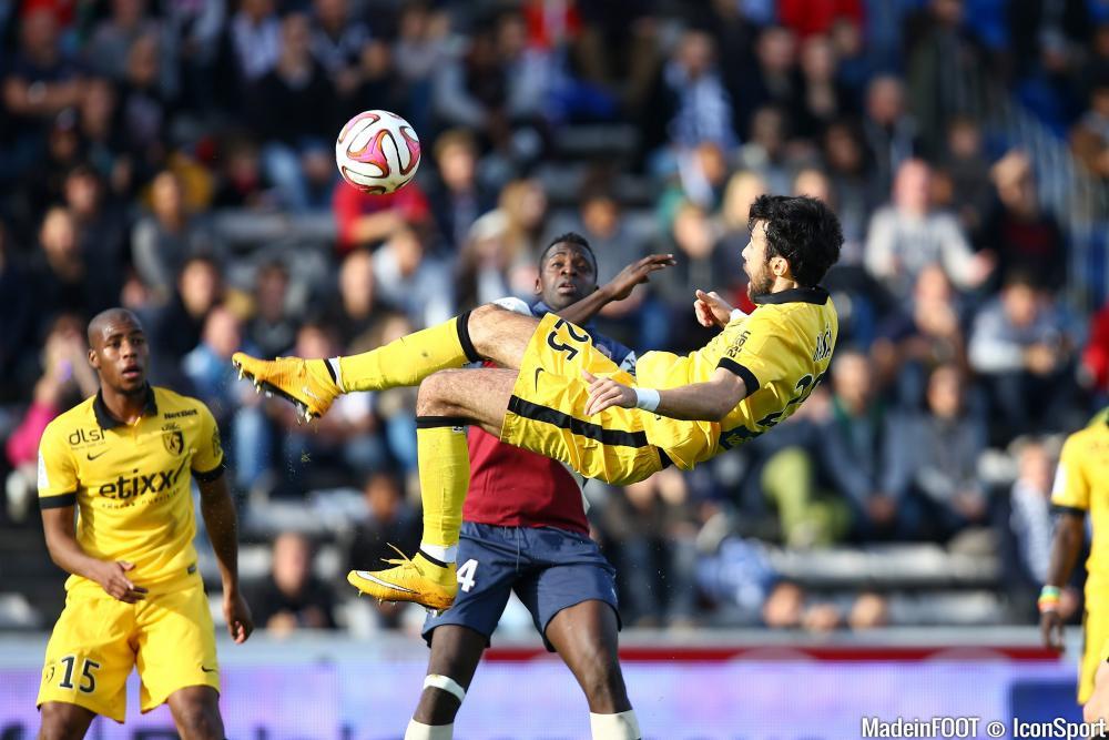 Basa s'est blessé contre les Girondins de Bordeaux, ce dimanche après-midi