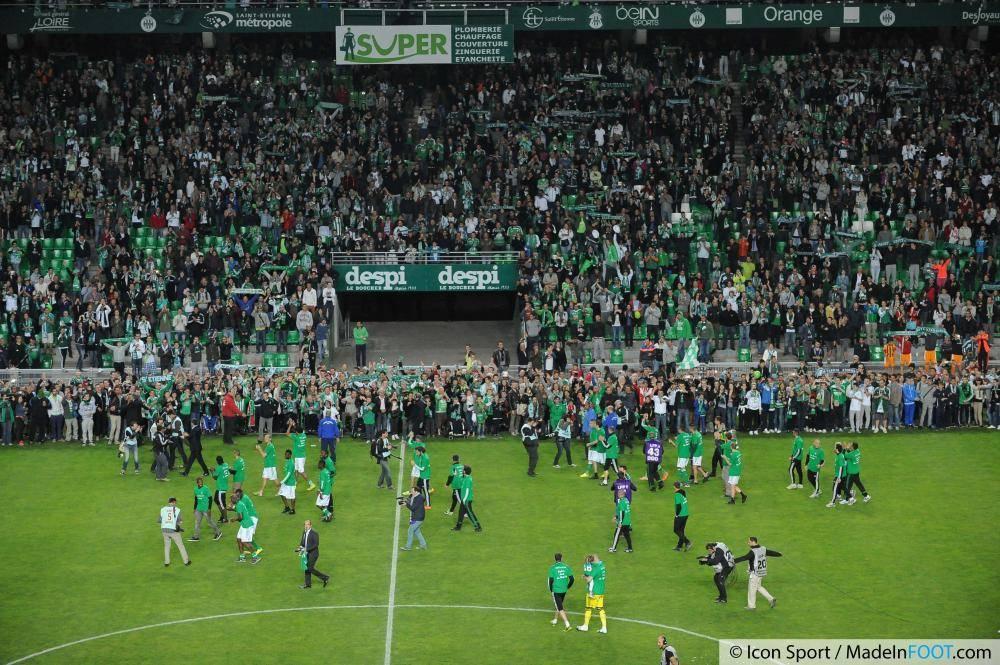 Les Verts de l'AS Saint-Etienne sont appréciés aux quatre coins de France