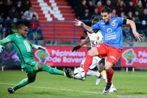 Andy DELORT / Vincent ENYEAMA - 05.12.2015 - Caen / Lille - 17eme journee Ligue 1