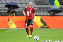 Blessure Florent BALMONT - 12.09.2015 - Lyon / Lille - 5e journee Ligue 1