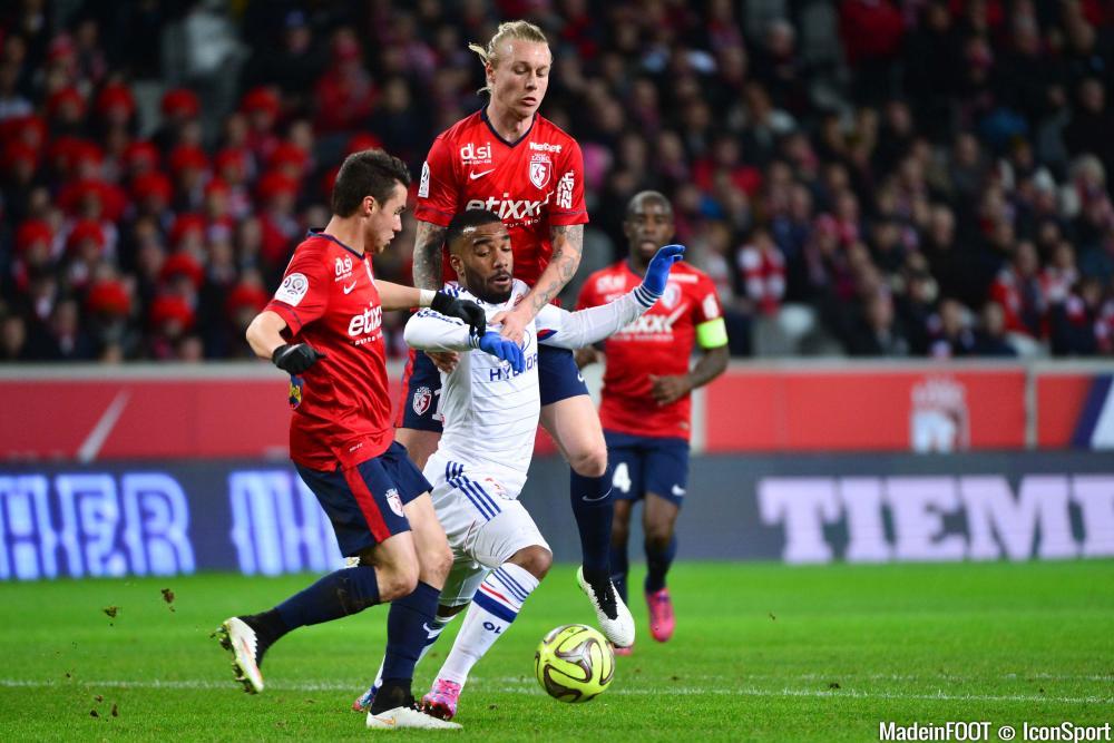 Alexandre Lacazette est de retour pour affronter Lille.