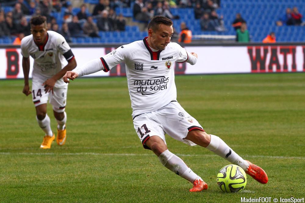 Eric Bauthéac (OGCN) a l'embarras du choix en Ligue 1.