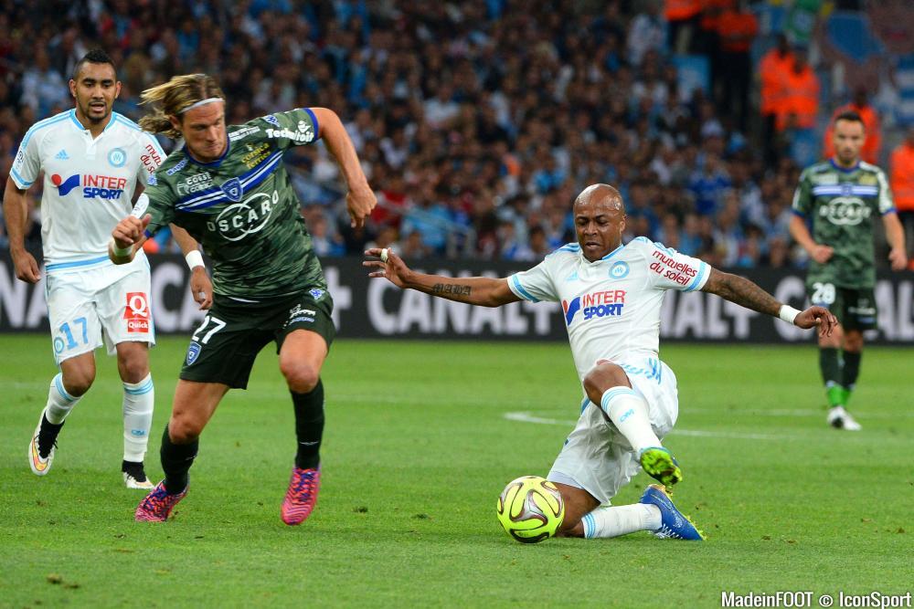 Guillaume Gillet, ici sous les couleurs du SC Bastia.