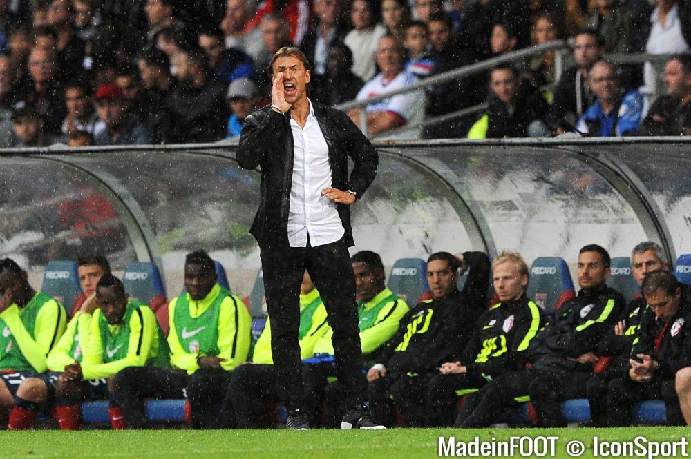 Hervé Renard (LOSC) se satisfait du point pris à Gerland.