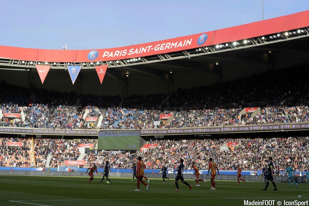 Le Parc des Princes est en tête du classement des meilleures surfaces de Ligue 1 après la 12ème journée de championnat.