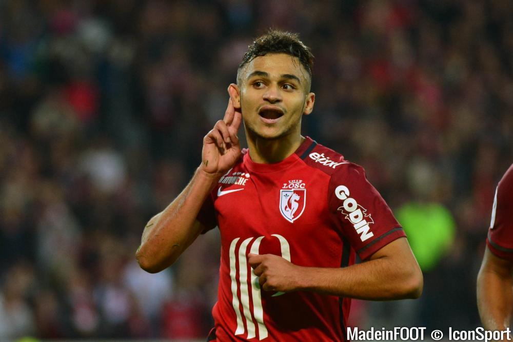 Sofiane Boufal a été désigné joueur du mois d'avril