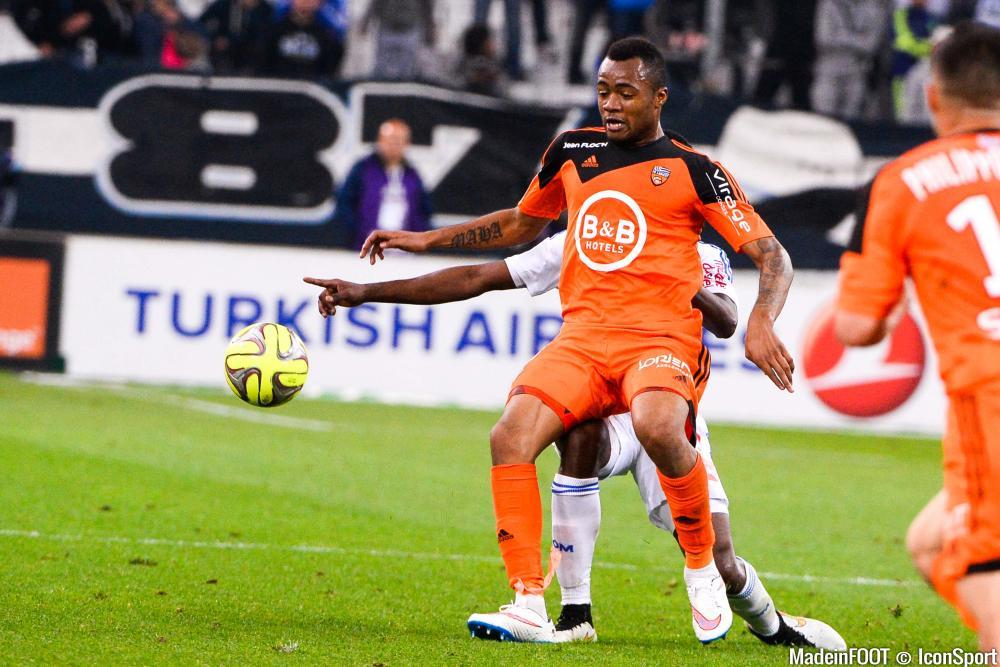 À 23 ans, Jordan Ayew a connu une saison pleine avec le FC Lorient.