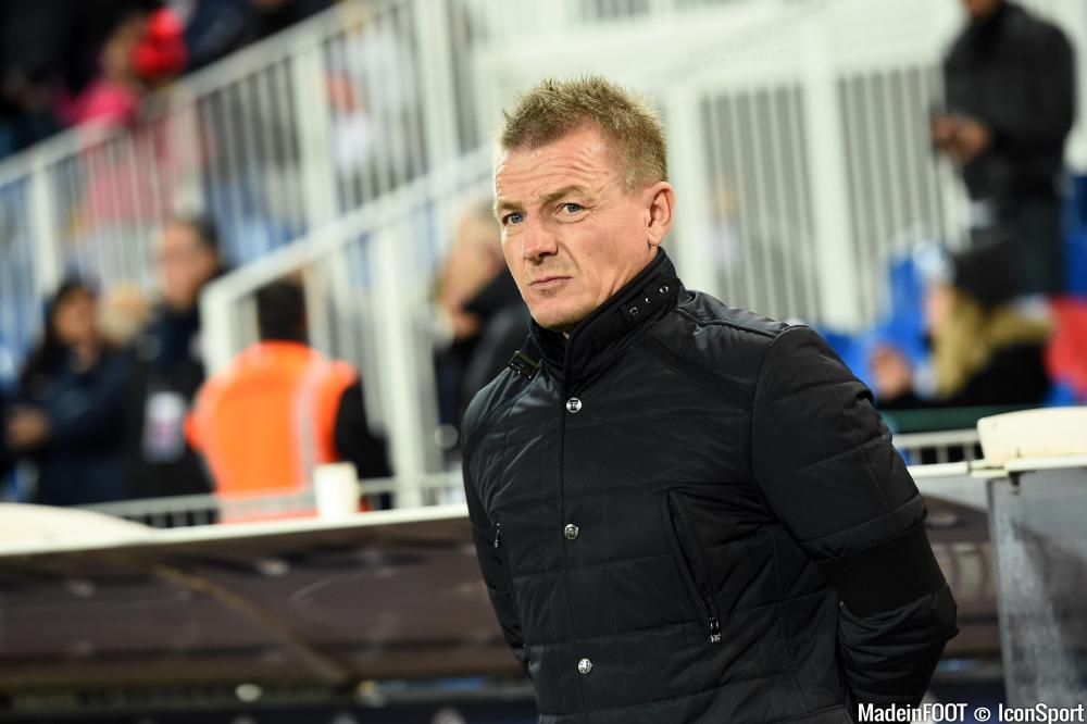 Olivier Guégan et le Stade de Reims sont tombés à Lille (2-0), ce samedi soir.
