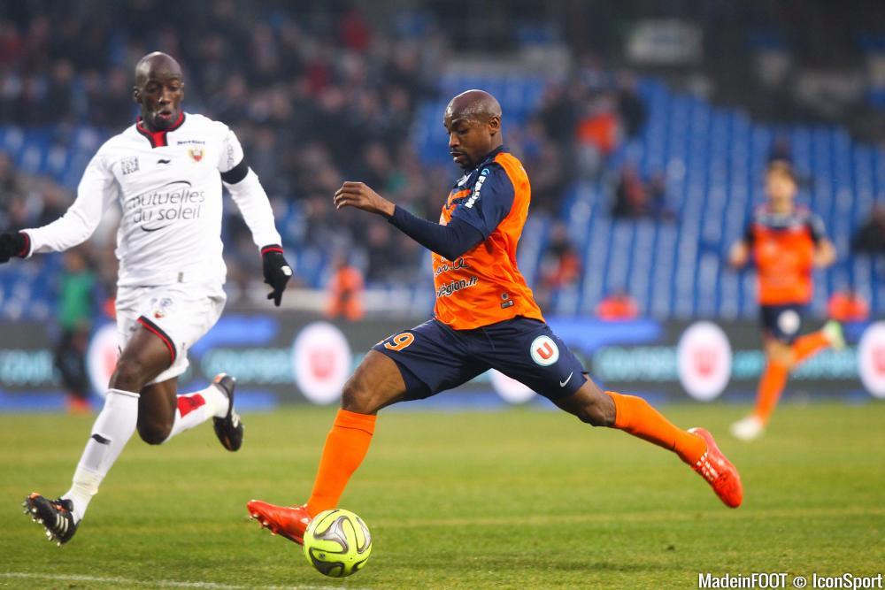 Souleymane Camara (MHSC) va mener l'attaque héraultaise face au LOSC.