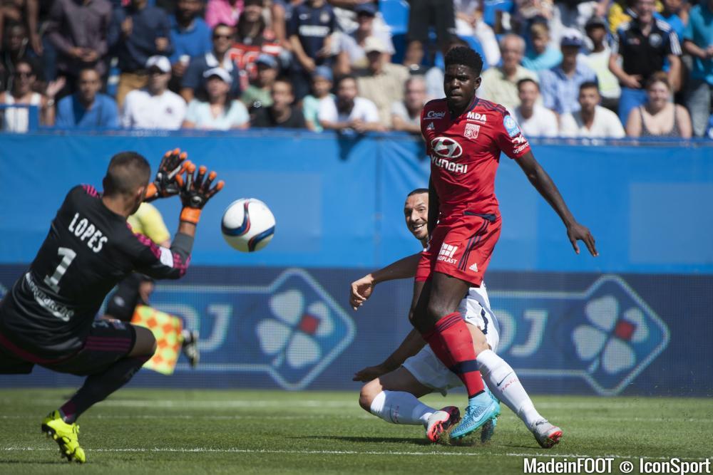 Ibrahimovic a été touché face à Lyon et pourrait ne pas affronter Lille vendredi prochain.