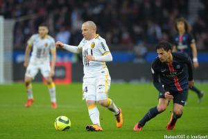 Florent Balmont, ici sous les couleurs du Lille OSC, a officialisé sa retraite.
