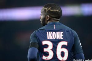 Jonathan Ikoné, ici sous le maillot du PSG.