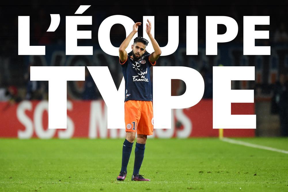Ryad Boudebouz est dans l'équipe-type de la 12e journée de Ligue 1.