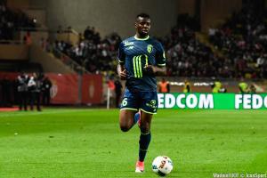 Ibrahim Amadou (Lille OSC) a fait son retour sur les pelouses de Luchin.