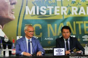 Claudio Ranieri (FC Nantes) n'est pas inquiet pour la suite de la saison.