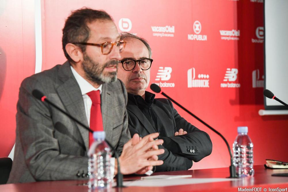 Marc Ingla et Luis Campos, les dirigeants lillois