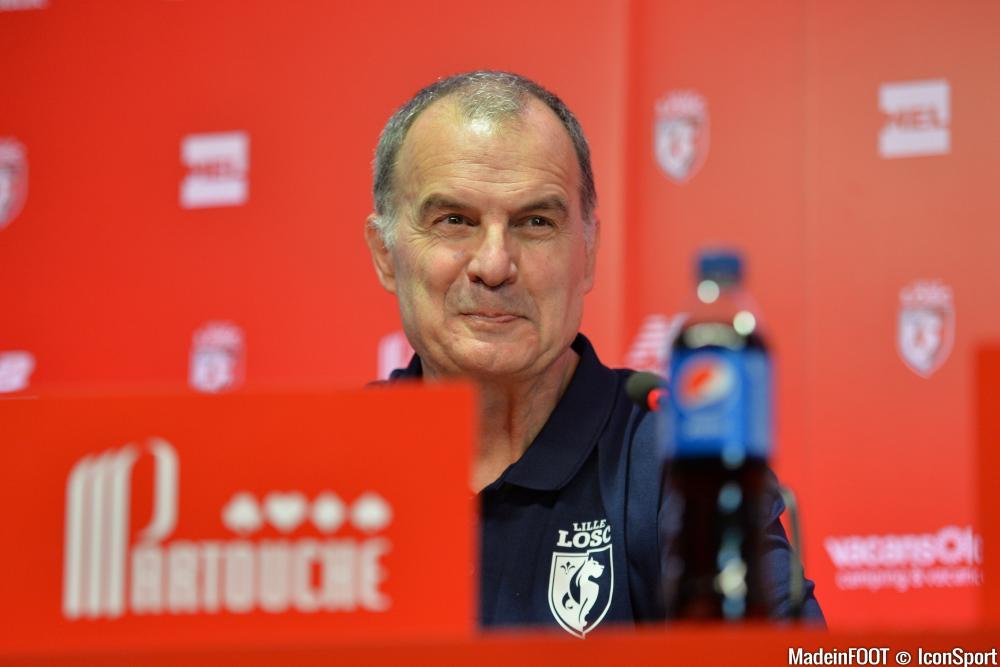 Marcelo Bielsa était très satisfait de la performance lilloise face à Saint-Etienne, vendredi (3-1)